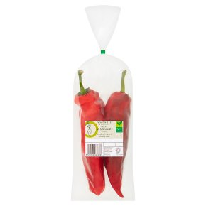 Waitrose Duchy Organic Romano peppers