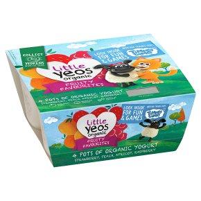 Yeo Valley Little Yeos Fruity Favourites Yogurt