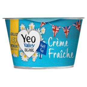 Yeo Valley Half Fat Organic Crème Fraîche