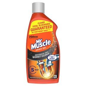 Mr Muscle sink & drain gel