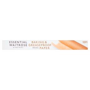 essential Waitrose baking parchment, 10m x 375mm