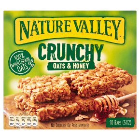 Nature Valley Crunchy Oats & Honey Cereal Bars