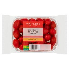 Waitrose baby plum tomatoes