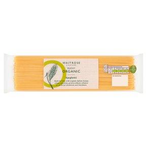 Waitrose Duchy Organic spaghetti