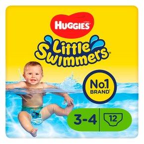 Huggies Little Swimmers Swim Pants, size 3-4, 7-15kg