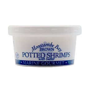 Marine Gourmet Morecambe Bay brown potted shrimps