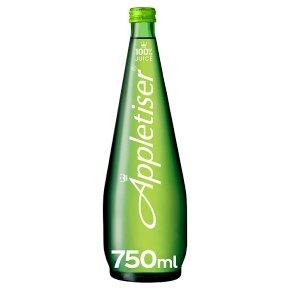 Appletiser 100% apple juice gently sparkling glass bottle