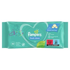 Pampers Complete Clean Baby Wipes Baby Fresh Scent (64)