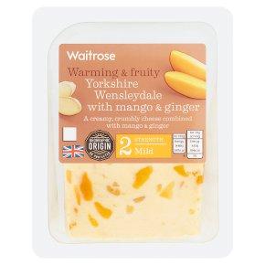 Waitrose Yorkshire Wensleydale with Mango & Ginger