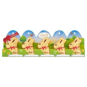 Lindt Mini Gold Bunnies 5s