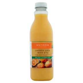 Waitrose Orange Juice with Bits