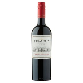 Errazuriz Estate Reserva, Cabernet Sauvignon, Chilean, Red Wine