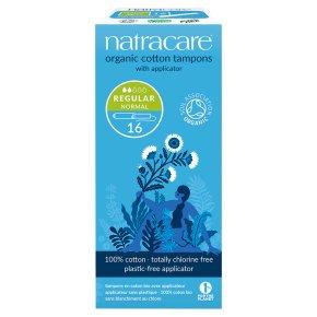 Natracare Organic Tampons - Regular