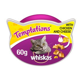 Whiskas Temptations with Chicken & Cheese