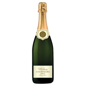 Waitrose Brut NV Champagne, half bottle