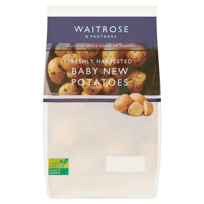 Waitrose baby new potatoes