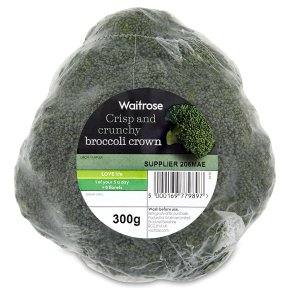 Waitrose broccoli crown