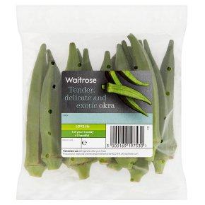 Waitrose okra