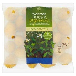Waitrose Duchy Organic baby potatoes