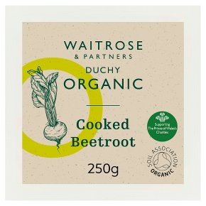 Waitrose Duchy Organic cooked beetroot
