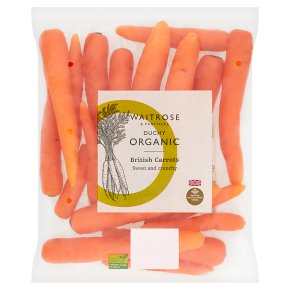 Waitrose Duchy Organic carrots