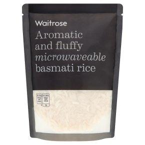 Waitrose microwave basmati rice