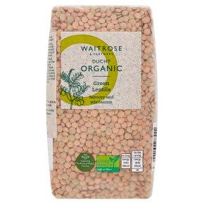 Waitrose Duchy Organic green lentils