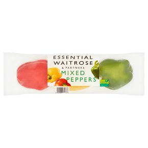 essential Waitrose mixed peppers