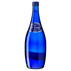 Ty Nant natural mineral water carbonated