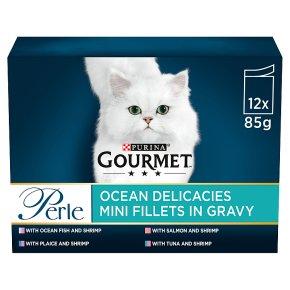 Gourmet Perle Cat Food Pouches Ocean Delicacies