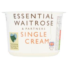 essential Waitrose Single Cream