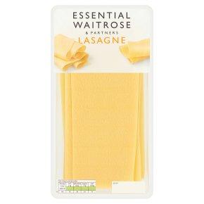 essential Waitrose fresh pasta lasagne sheets