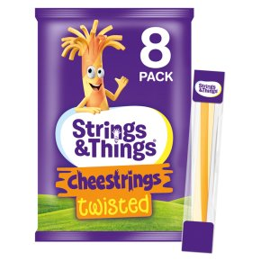 Cheestrings 8 pack Twisted