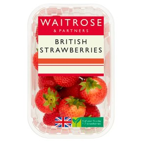 Waitrose sweet and juicy strawberries