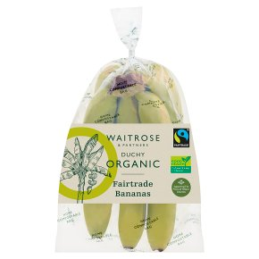 Waitrose Duchy Organic Fairtrade Bananas