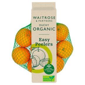 Waitrose Duchy Organic easy peelers