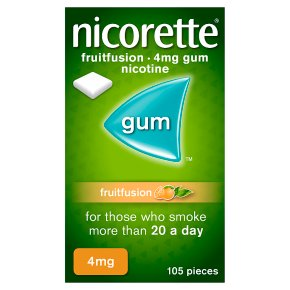 Nicorette freshfruit fullstrength 4mg gum