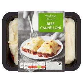 Waitrose beef cannelloni