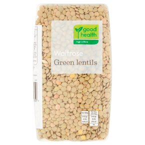 Waitrose LOVE life green lentils