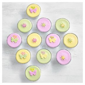 12 Fiona Cairns Butterfly & Blossom Cupcakes