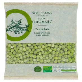 Waitrose Duchy organic petits pois
