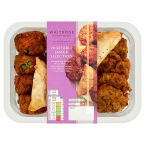 Waitrose Indian snack selection