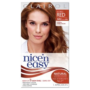 Nice n Easy Natural Warm Auburn 109A Hair Colour