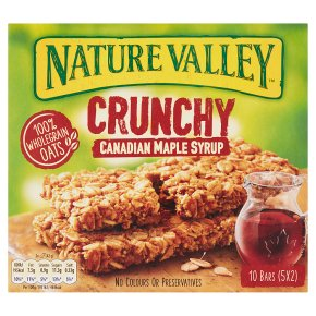 Nature Valley Crunchy Bars Canadian Maple Syrup
