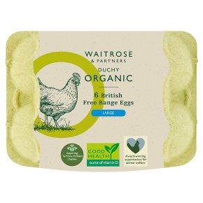 Waitrose Duchy British Free Range Eggs Large