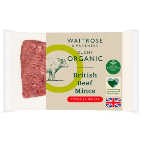 Duchy from Waitrose British Beef Mince 10% Fat