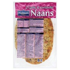 Nishaan garlic & coriander naan