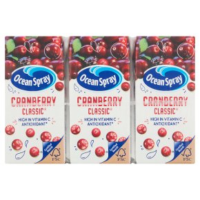 Ocean Spray cranberry lunchbox pack