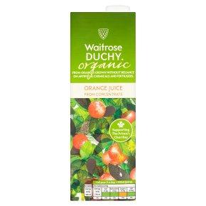 Waitrose Duchy orange juice