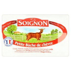 Soignon ripened goat cheese